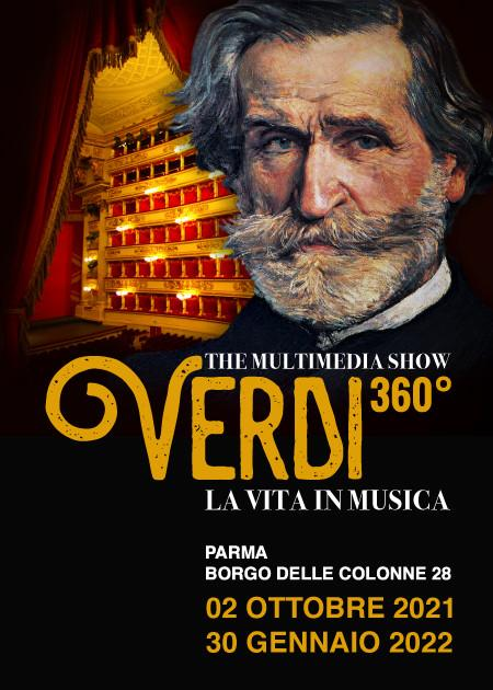 Verdi 360° La Vita in musica - The Multimedia Show