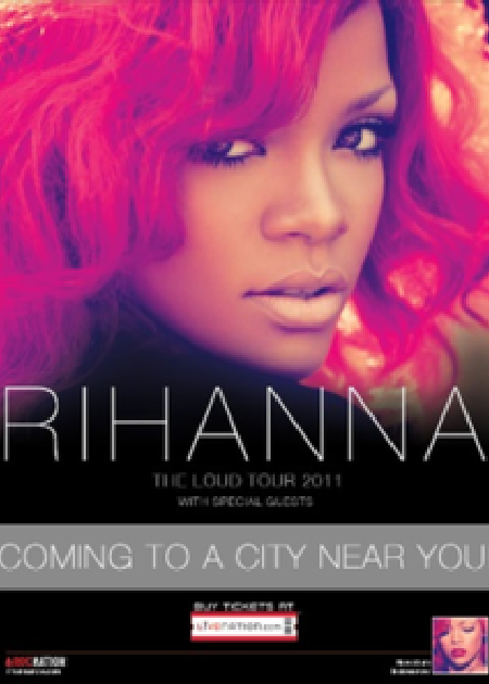 Rihanna - Coming to a City near You Tour